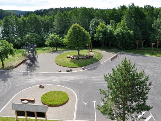 """""""KRISTINIS"""". Teritorijos sutvarkymo projektas prie kelio A12 Ryga-Kaliningradas ties Bijotės ežeru. 2014 m."""
