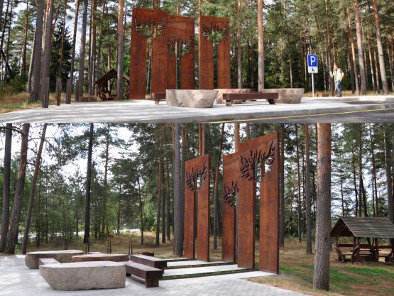"""""""ŠVENTYKLA"""". Sustojimo aikštelės sutvarkymo projektas Raigardo slėnyje prie kelio A4 Vilnius-Varėna-Gardinas. 2015 m."""