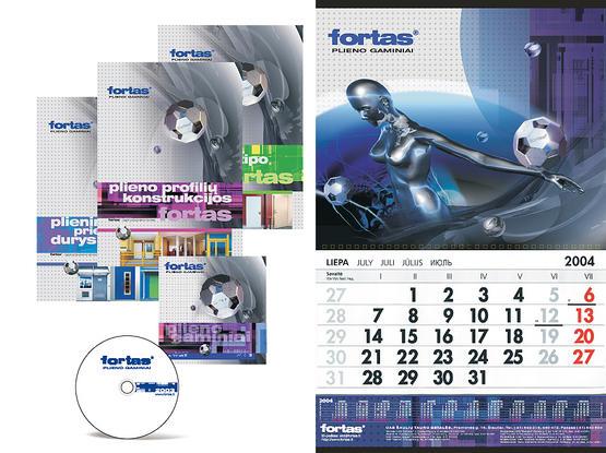 """UAB """"Fortas"""" reklaminė kampanija (2003 m.)"""