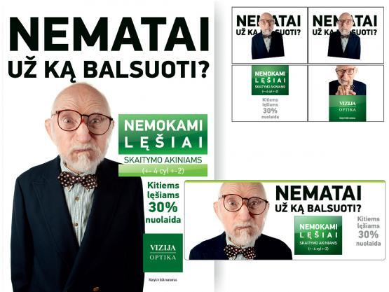 Akcijinė reklama NEMATAI, 2012 m.
