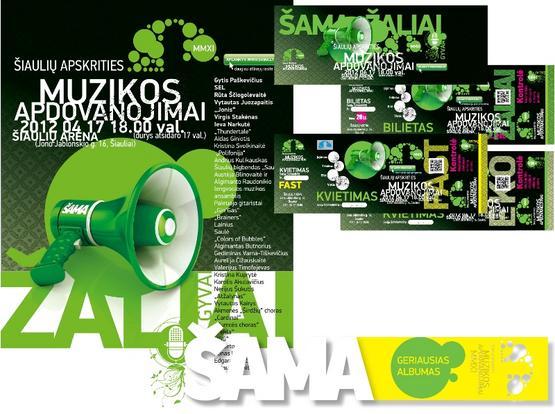 ŠAMA. Šiaulių apskrities muzikiniai apdovanojimai 2011.