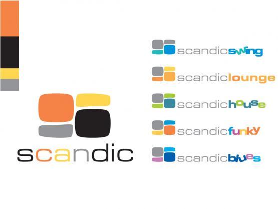 Prekinis ženklas SCANDIC ir poženkliai
