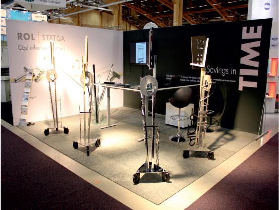 Stendas TIME. Tarptautinė paroda Elmia, Švedija. 2012