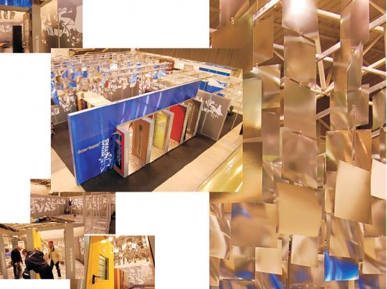"""Stendas METALAS GYVAS. Tarptautinė paroda """"RESTA 2007"""". LITEXPO, Vilnius."""
