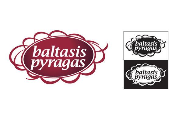 """Ženklas """"BALTASIS PYRAGAS""""."""